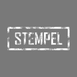 Stempel Sticker (weiß)