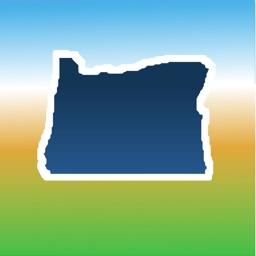 Aqua Map Oregon Lakes GPS