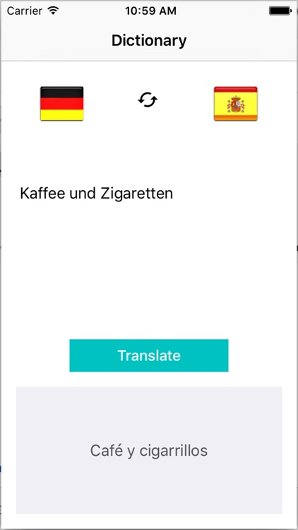 Traductor Aleman Español - Übersetzer Spanisch Deutsch - Translate German to Spanish Dictionary screenshot-3