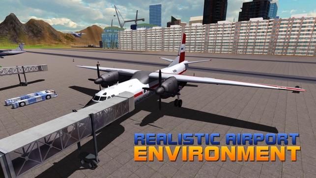 Flughafen Flug Staff - 3D Flugzeuge Park Simulator-Spiel im App Store