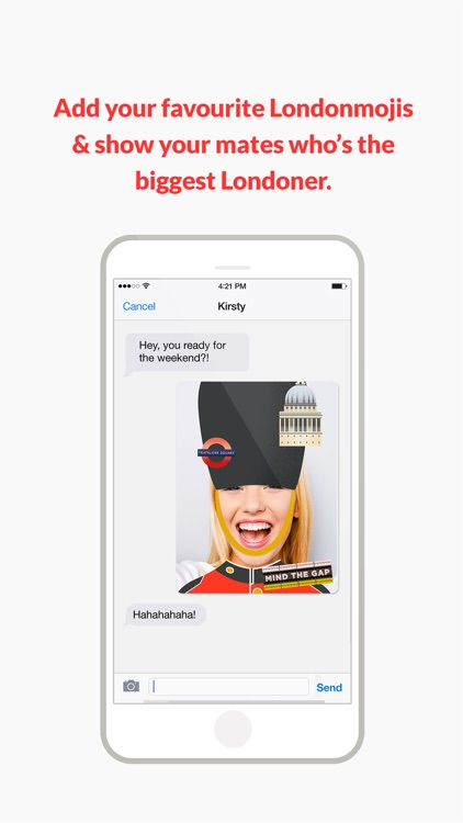 Londonmoji - London emoji-stickers! screenshot-4
