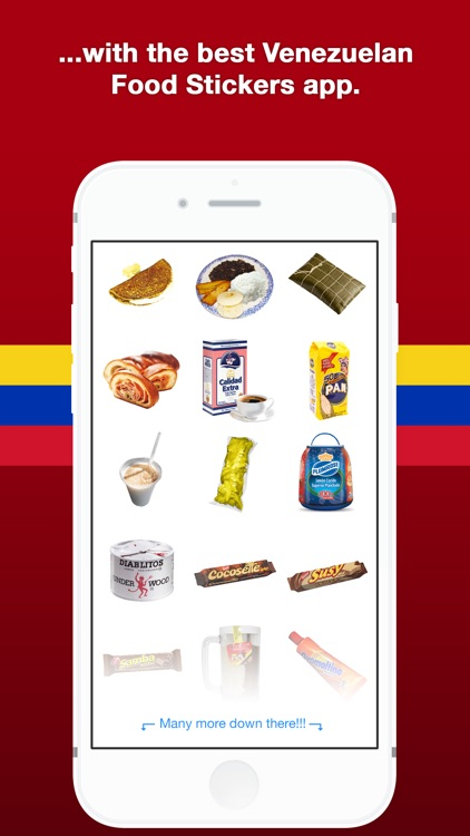 Venezuelan Food Stickers screenshot-4
