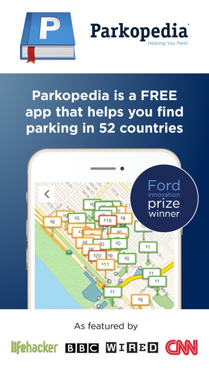Parkopedia Parking screenshot-0