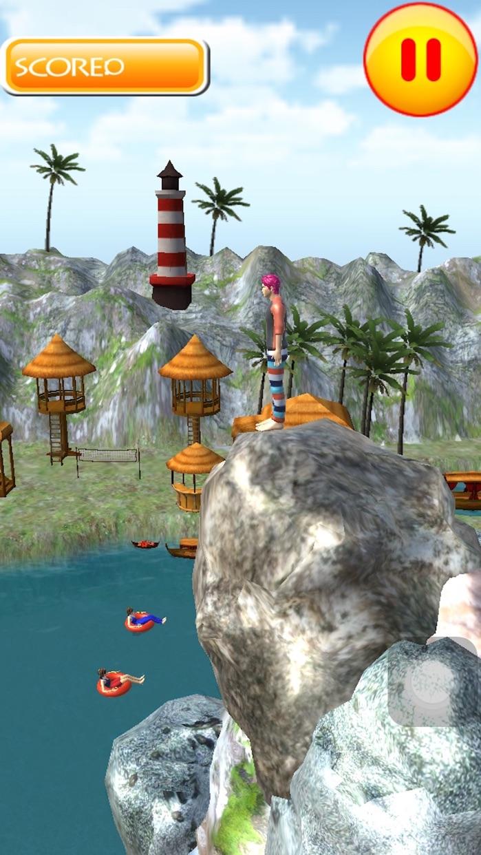 Flip Swim Diving : Cliff Jumping Screenshot
