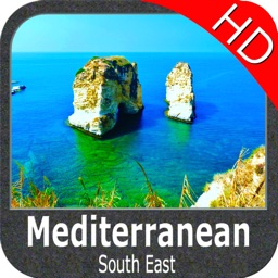Mediterranean South East HD - GPS Map Navigator