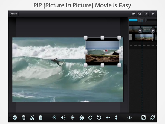 Cute CUT - Full Featured Video Editor screenshot