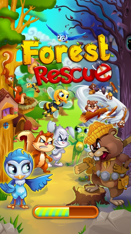 Forest Rescue: Match 3 Puzzle screenshot-3