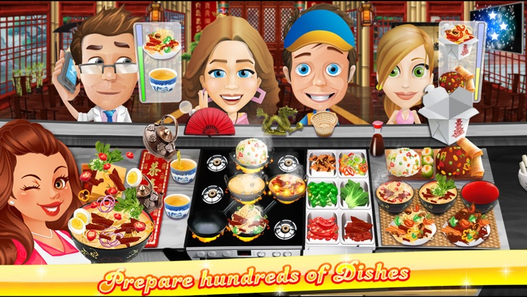 The Cooking Game- With Cute iMessage Food Stickers screenshot-0