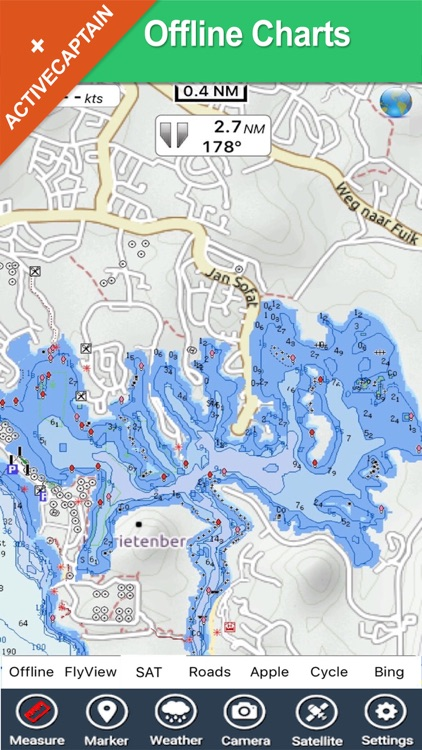 Curacao - GPS Map Navigator screenshot-1