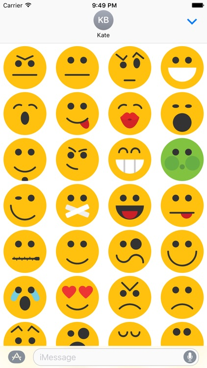 Smiley Emoji Faces