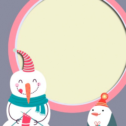 Holiday Xmas Picture Frame - insta frames Foto iOS App