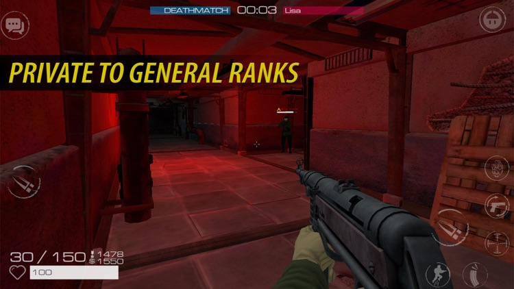 Vanguard Online Multiplayer Shooting  - WW2 screenshot-4