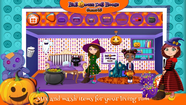 Halloween Doll House Design Decoration Game.s 3D by Nenad