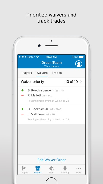 NFL Fantasy Football - Official NFL Fantasy App screenshot-2
