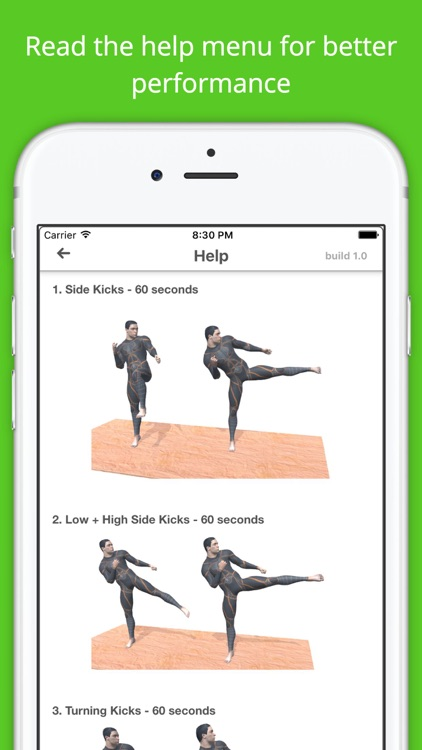 Kickboxing Workout Challenge Free Cardio Training screenshot-4