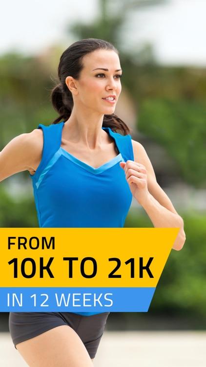 Half Marathon training, 21K Runner: 13.1 mile run