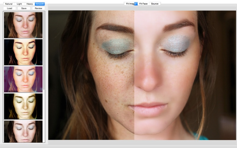 Beauty Retouch-Face Makeup and Skin Smooth screenshot 2