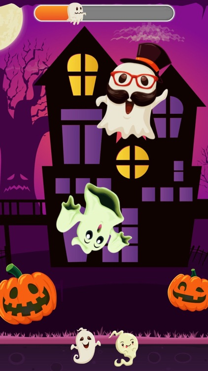 Funny Ghosts! Cool Halloween screenshot-1
