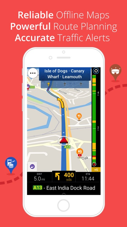 CoPilot UK & IRE – Offline Sat-Nav, Maps & Traffic app image