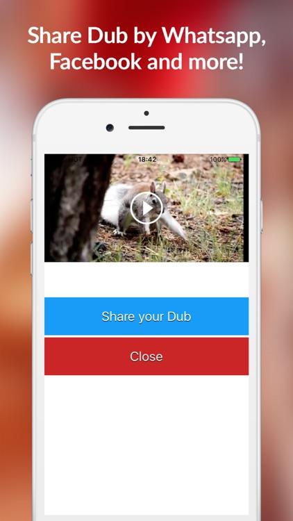 Dubbit: Lip Sync Dub in Video Clips Movie Creator screenshot-3