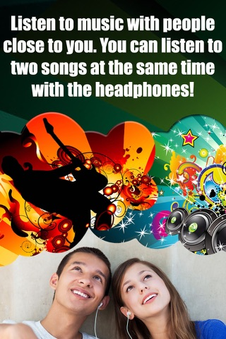 Double Player for Music with Headphones Pro screenshot 1
