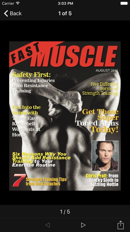 Fast Muscle Magazine screenshot-1