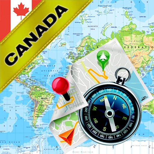 Canada - Offline Map & GPS Navigator