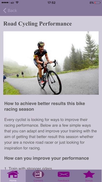 Road Cycling Techniques screenshot-3