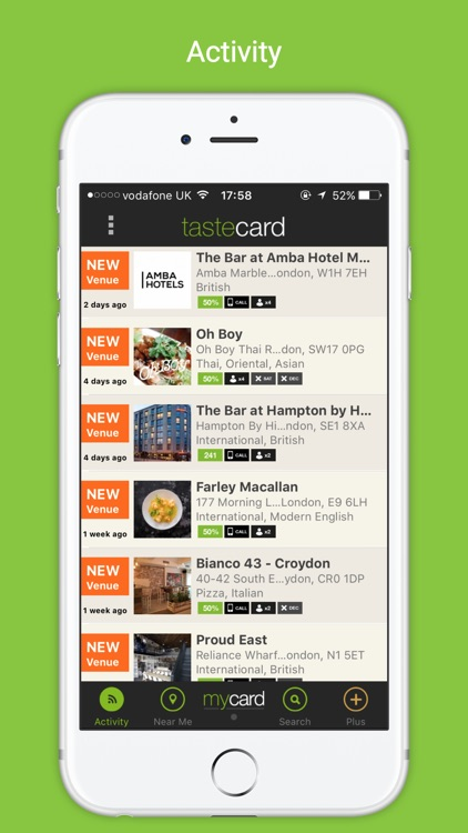 tastecard dining discounts screenshot-1
