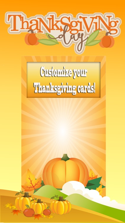 Thanksgiving Day Greeting Cards – Get Crafty With New Holiday Greetings Photo Card Maker screenshot-3
