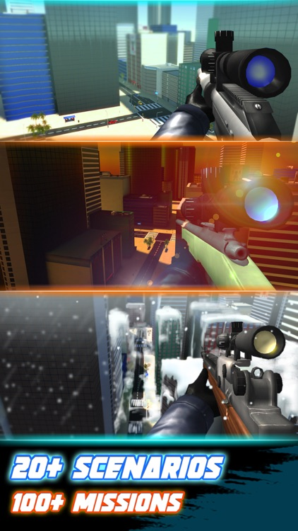 Sniper 3D Silent Assassin: Gun Shooting Free Game screenshot-3