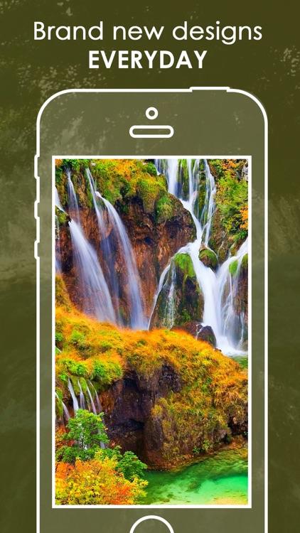 Waterfalls Wallpaper   Best Nature Backgrounds screenshot-4