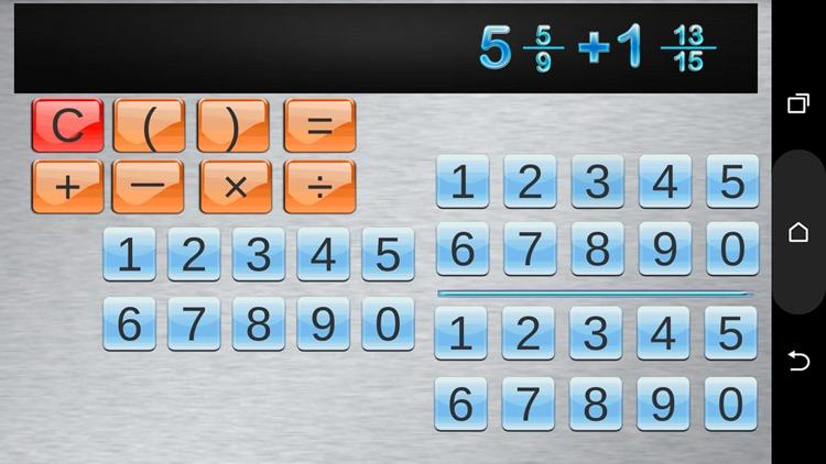 Fraction Calculator and progress screenshot-3