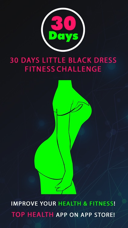 30 Day Little Black Dress Fitness Challenges Pro