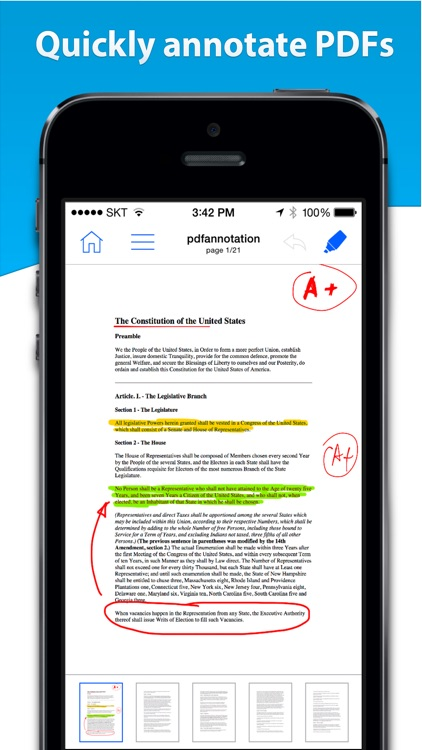 Notes HD for iPhone - Notes, PDF, Drawing screenshot-2