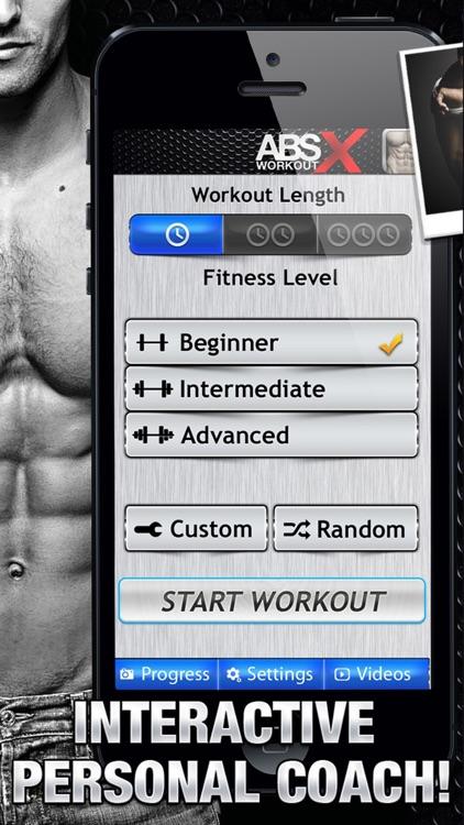 Ab Workout X FREE+ Six-Pack Core Abdomen Exercises