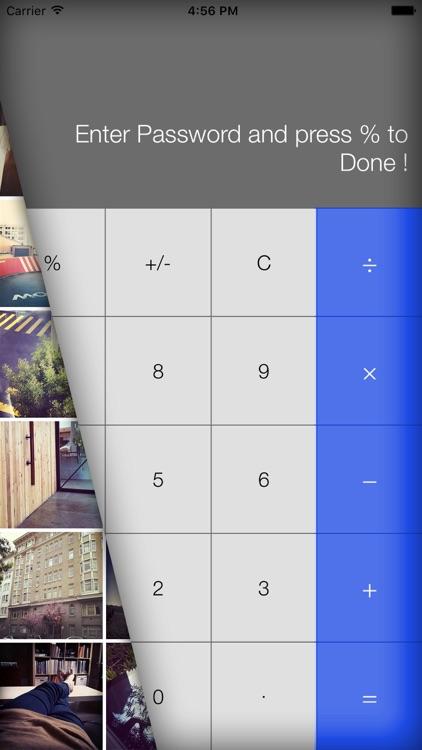 Secret Calculator Photo Vault