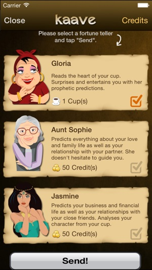58ccc97746256f Kaave - Coffee Fortune Reading on the App Store