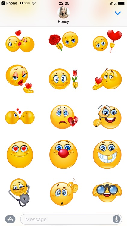 Flirty Emoji Stickers Pack For Adult Lovers