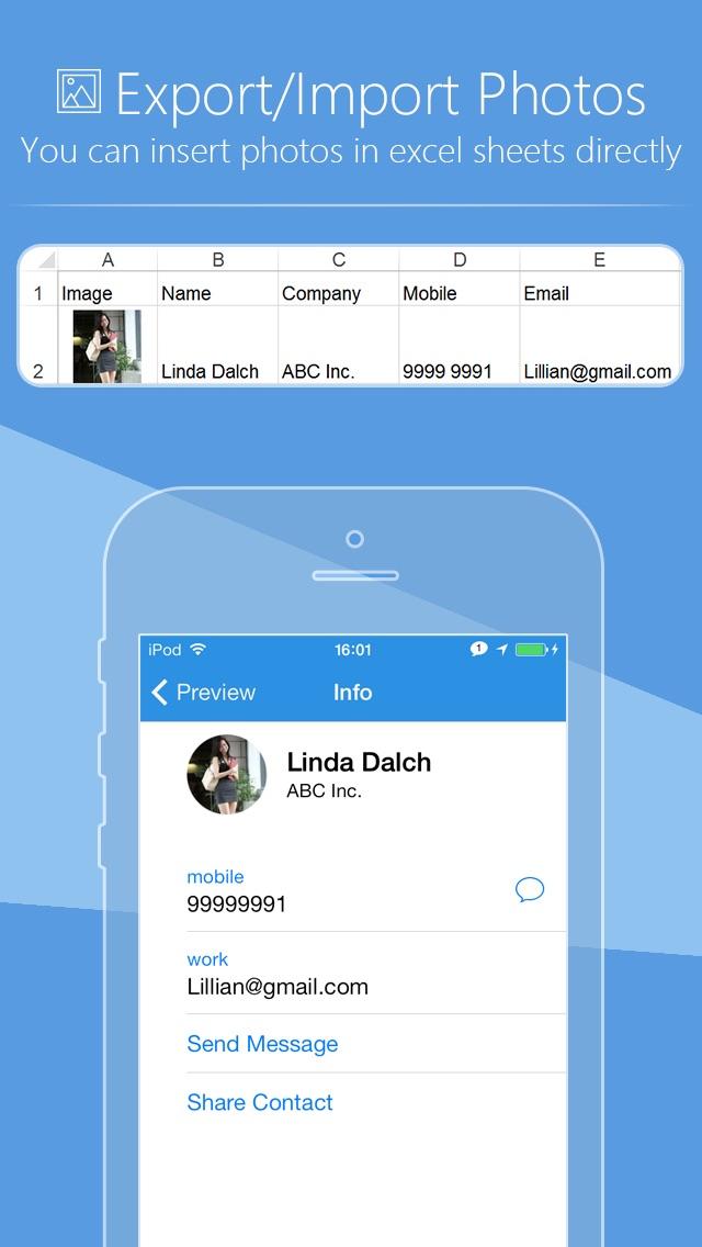SA Contacts Lite Screenshot