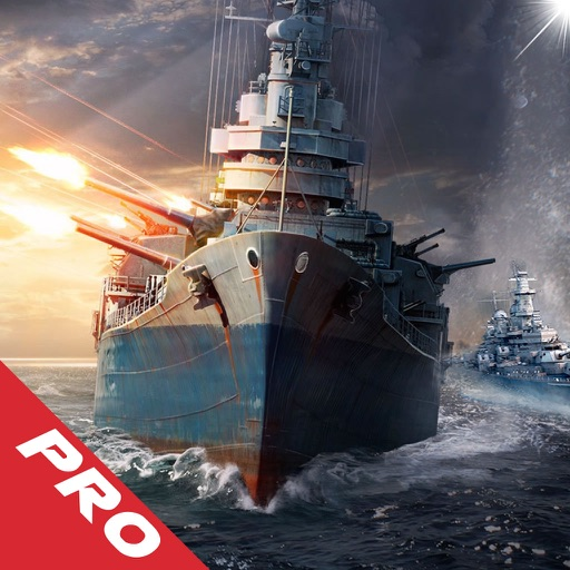 Battleship Voyage Pro - Fleet Battle a Sea game! Fast-paced naval warfare!