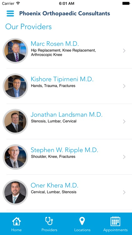 Phoenix Orthopaedic Consultants screenshot-1