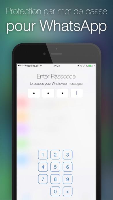 Screenshot for Mot de passe pour WhatsApp in Lebanon App Store