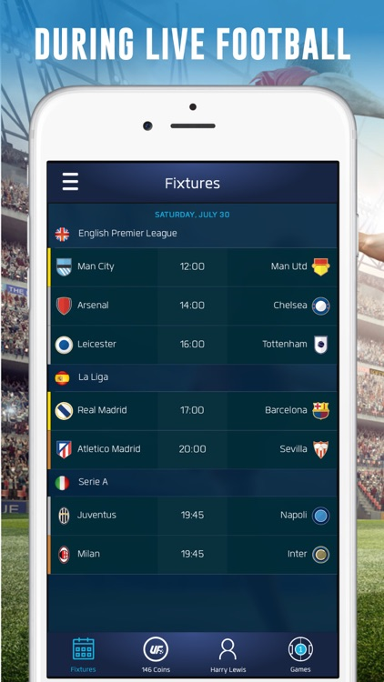 UFL - Real-time Fantasy Soccer screenshot-1