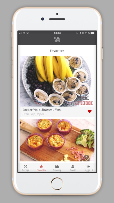 Screenshot for Little Foodie in Sweden App Store