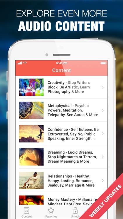 Hypnosis for Brain Training screenshot-3