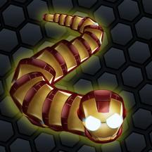 Glowing Snake King - Anaconda Diep War Battle Game