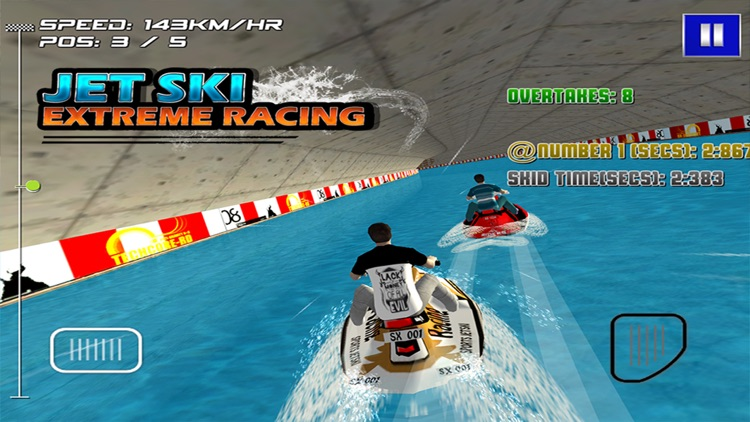 Jetski Extreme Racing (3d Race Game / Games) screenshot-4