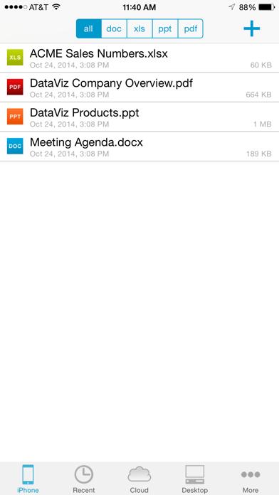 Docs To Go Premium review screenshots