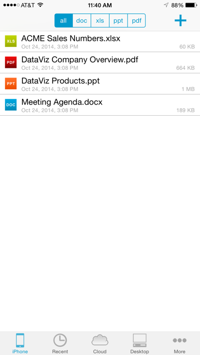 Docs To Go Premium screenshot1